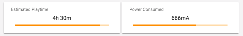 Power consumption scores on the Summary pane